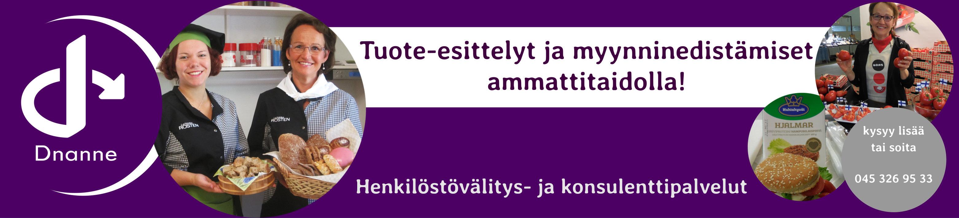 Dnanne Oy – Tuote-esittelyt ja Henkilöstövuokraus Helsingin, Turun ja Tampereen alueilla